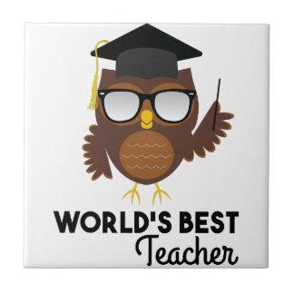 Best Teacher Tile