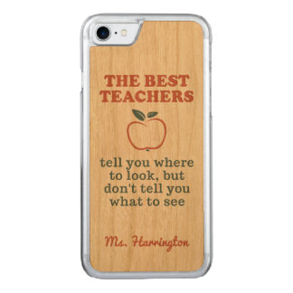 BEST TEACHERS custom name phone cases