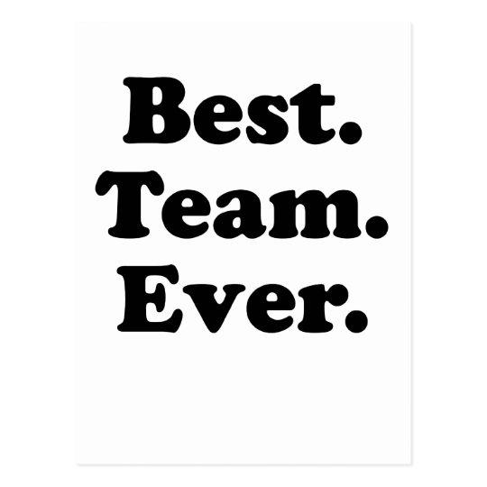 best team ever postcard zazzle com