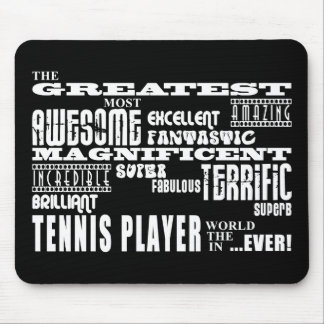 Best Tennis Players Greatest Tennis Player Mouse Pad