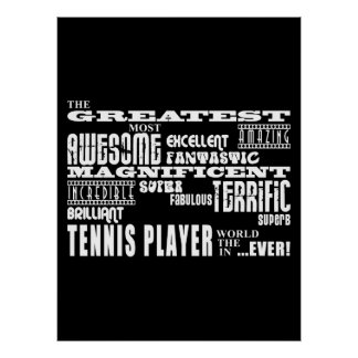 Best Tennis Players Greatest Tennis Player Poster