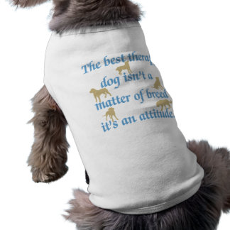 Best Therapy Dog Shirt