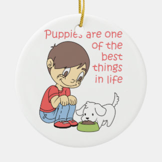 BEST THINGS IN LIFE CERAMIC ORNAMENT