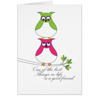 Best Things In Life - Friends Card