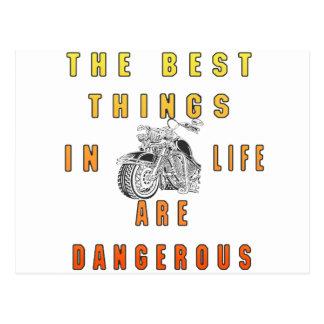 BEST THINGS IN LIFE POSTCARD