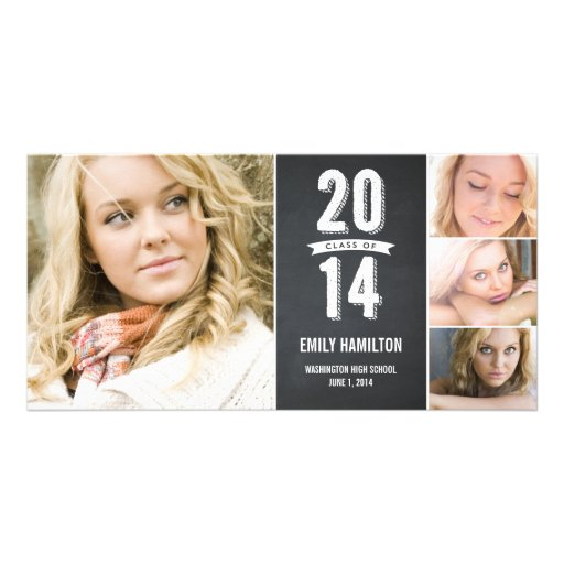 Best Times Graduation Announcement Photo Greeting Card