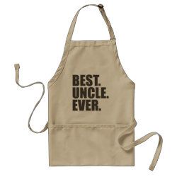 Apron with Best. Uncle. Ever. design