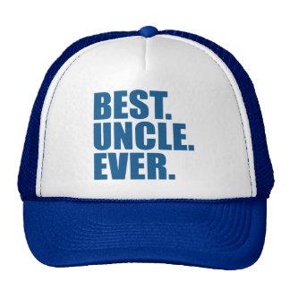 Best. Uncle. Ever. (blue) Trucker Hat