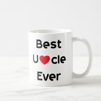 Best Uncle Ever Classic White Coffee Mug