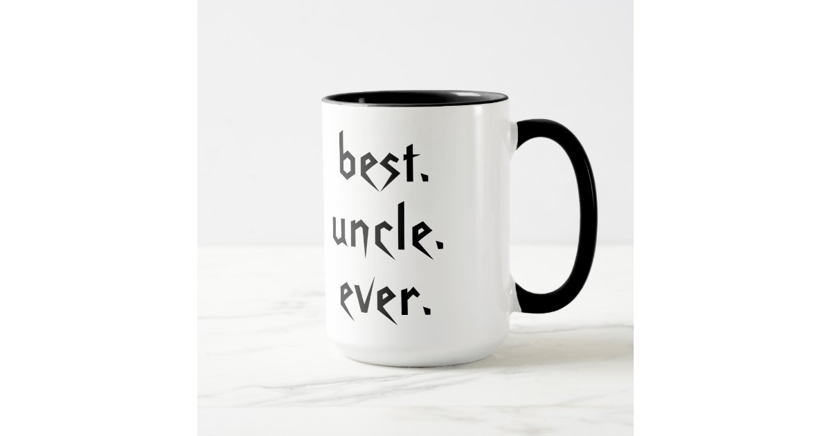 Best uncle ever coffee mug zazzle for Best coffee cup ever