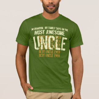 Best UNCLE Ever Gift Tee for Him