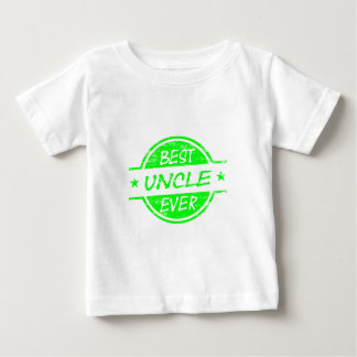 Best Uncle Ever Green Baby T-Shirt