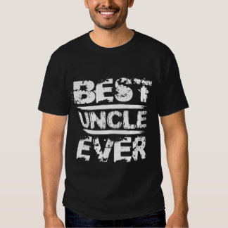 Best UNCLE Ever Grunge Style White and Black A91 T-Shirt
