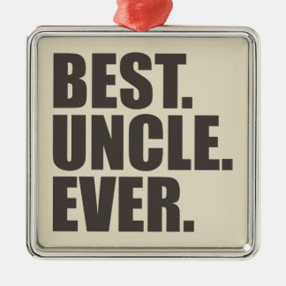 Best. Uncle. Ever. Christmas Ornament