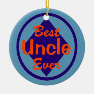 Best Uncle Ever Personalized Ornament