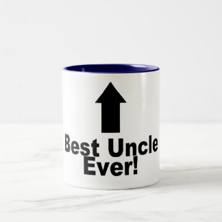 Best Uncle Ever Two-Tone Coffee Mug