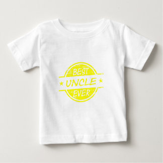 Best Uncle Ever Yellow Baby T-Shirt