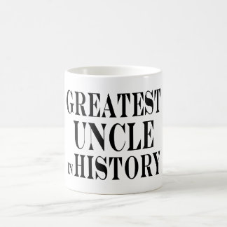 Best Uncles : Greatest Uncle in History Classic White Coffee Mug