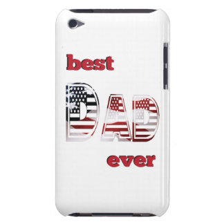 Best USA Dad Ever Case-Mate iPod Touch Case
