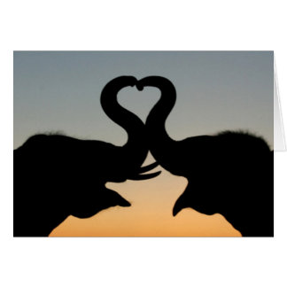 BEST VALENTINES DAY CARDS - ELEPHANTS - GIFTS