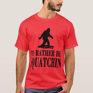 *BEST VERSION* I'd Rather be Squatchin, Men's Tees