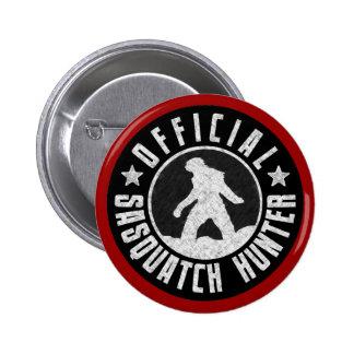 Best Version - OFFICIAL Sasquatch Hunter Design 2 Inch Round Button