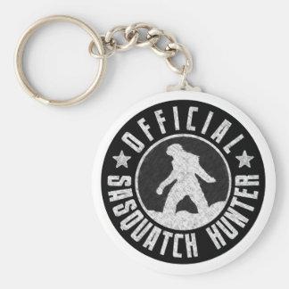 Best Version - OFFICIAL Sasquatch Hunter Design Basic Round Button Keychain