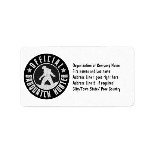Best Version - OFFICIAL Sasquatch Hunter Design Label