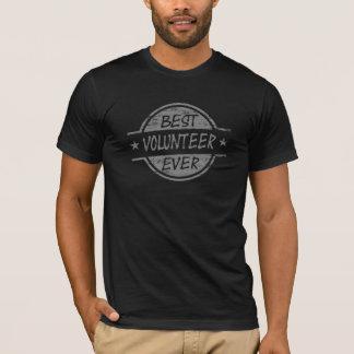 Best Volunteer Ever Gray T-Shirt