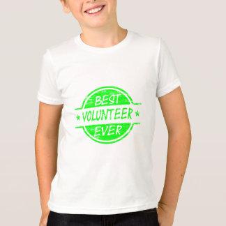 Best Volunteer Ever Green T-Shirt