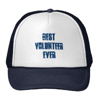 Best Volunteer Ever or Any Sentiment Blue W1584 Trucker Hat