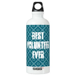 Best Volunteer Ever or Any Sentiment W1579 Aluminum Water Bottle