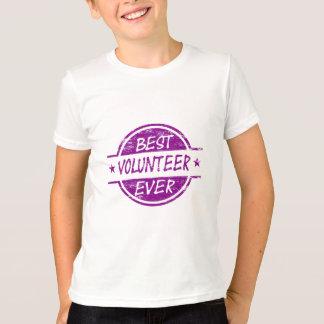 Best Volunteer Ever Purple T-Shirt