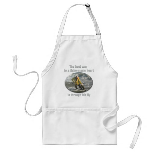 Best Way to a Fisherman's Heart Aprons