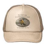 Best Way to a Fisherman's Heart Trucker Hats