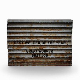 Best Welder Award