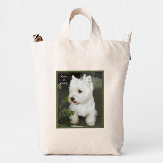 Best West Highland Terrier Ever Duck Bag
