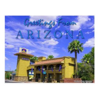 Best Western Rancho Grande Postcard