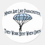 Best When Open Sticker