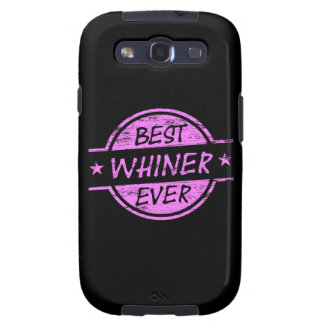 Best Whiner Ever Pink Samsung Galaxy SIII Covers