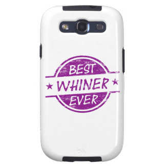 Best Whiner Ever Purple Samsung Galaxy S3 Cases