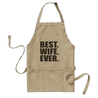 Best. Wife. Ever. Adult Apron