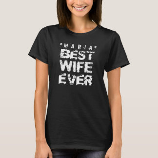 Best WIFE Ever Black and White Modern A04 T-Shirt