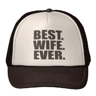 Best. Wife. Ever. Mesh Hat