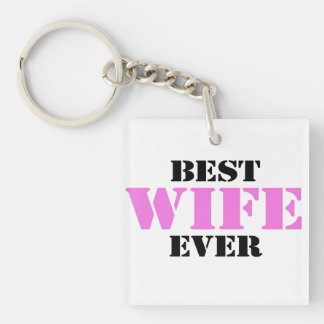 Best Wife Ever Keychain