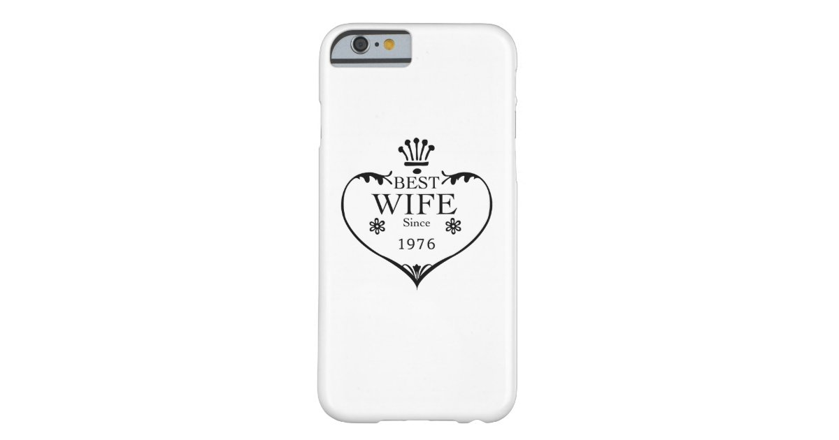 41st Wedding Anniversary Gift: Best Wife Since 1976 41st Wedding Anniversary Case-Mate