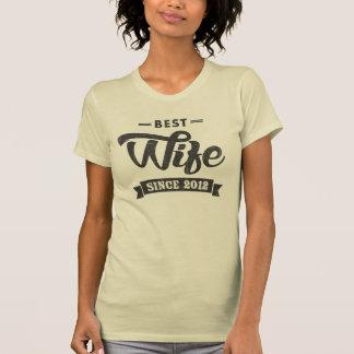 Best Wife Since 2012 T-Shirt