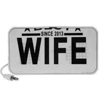 Best WIFE Since 2013 Tshirt '.png Speaker