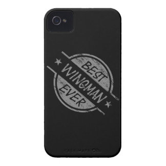Best Wingman Ever Gray iPhone 4 Case