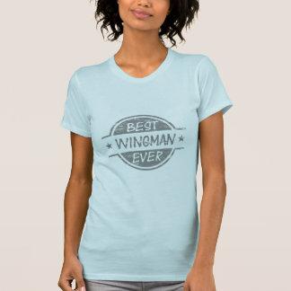 Best Wingman Ever Gray T-Shirt